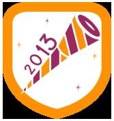 """New Yotomo Badge: How To Unlock """"Happy New Year 2013"""""""