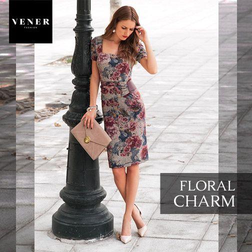 Floral Charm & Elegance: όταν φοράτε floral prints αποφύγετε έντονα αξεσουάρ και άλλες λεπτομέρειες (ιδανικά ακόμα και τα παπούτσια σας να είναι nude) και επιτρέψτε στο έντονο σχέδιο να κλέψει τις εντυπώσεις!  www.vener.gr #venertips #venerfashion #fashion #floraldress #styleadvice