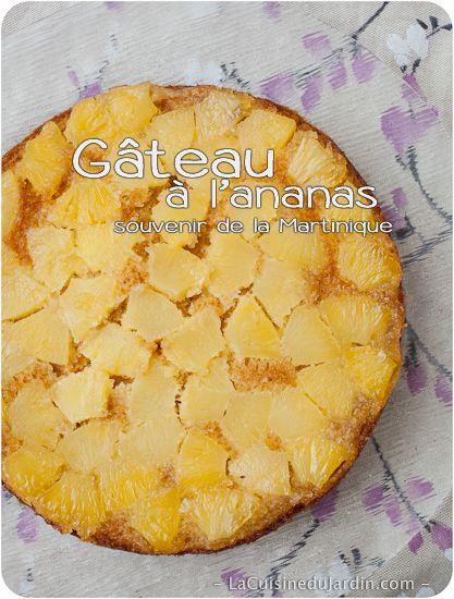 Gateau creole ananas tupperware