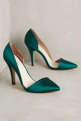 Vanina Sienna Satin Pumps Holly 41 Euro Heels