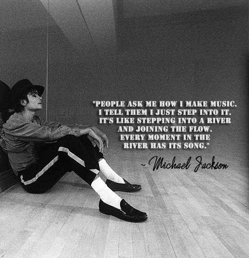 "How Michael made his music from ""Dancing the Dream"" ❤️❤️"