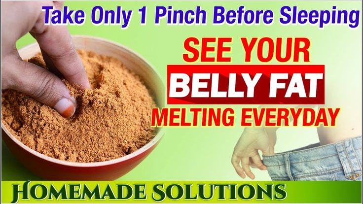 MAGICAL SLIMMING POWDER BURN BELLY FAT OVERNIGHT LIKE CRAZY !! | Natural tummy tuck Remedy - YouTube