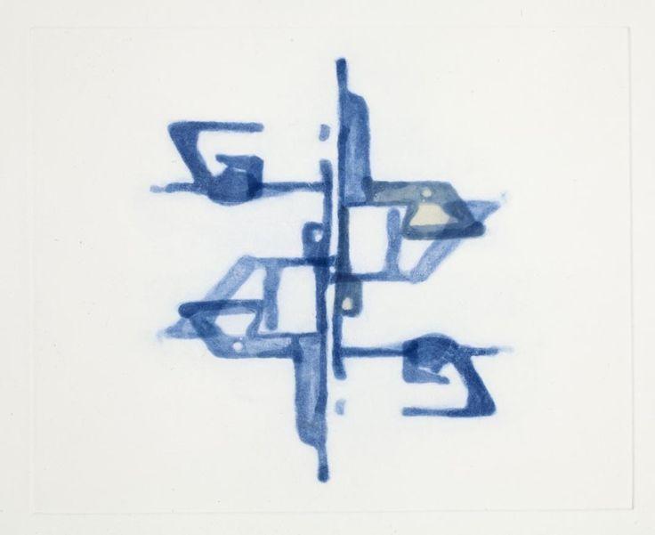 Lorenzo Nassimbeni, 'Healing of land', Hardground spitbite aquatint and chine colle, 33x31 cm
