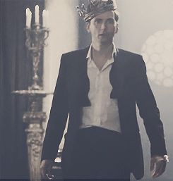 David Tennant as Hamlet (gif)