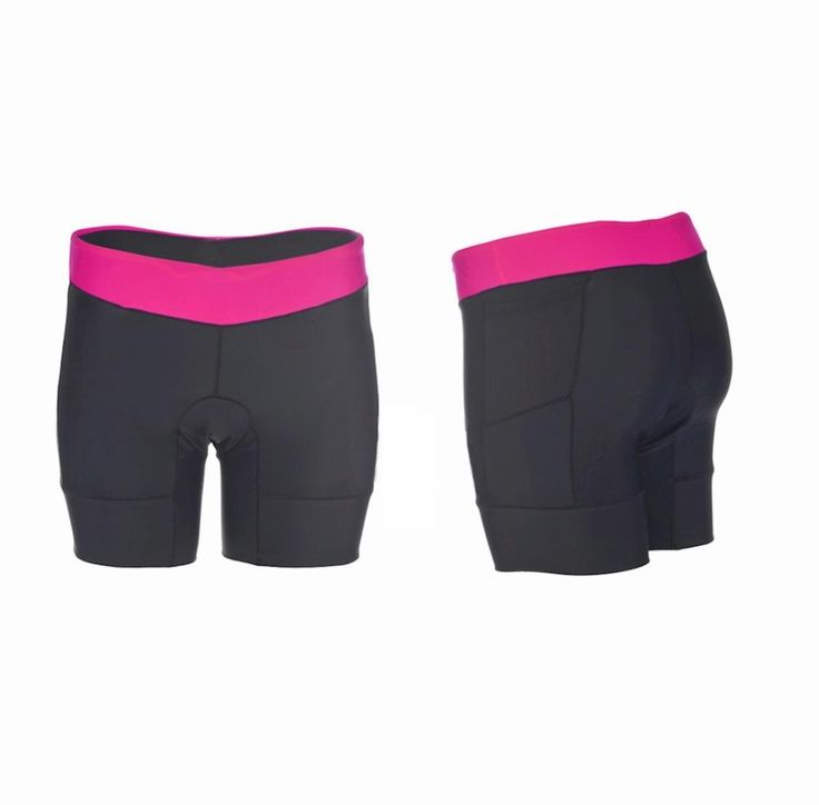 Women's KONA Triathlon Shorts with 2 rear pockets for energy gel