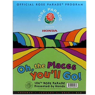 2013 Rose Bowl Parade Program