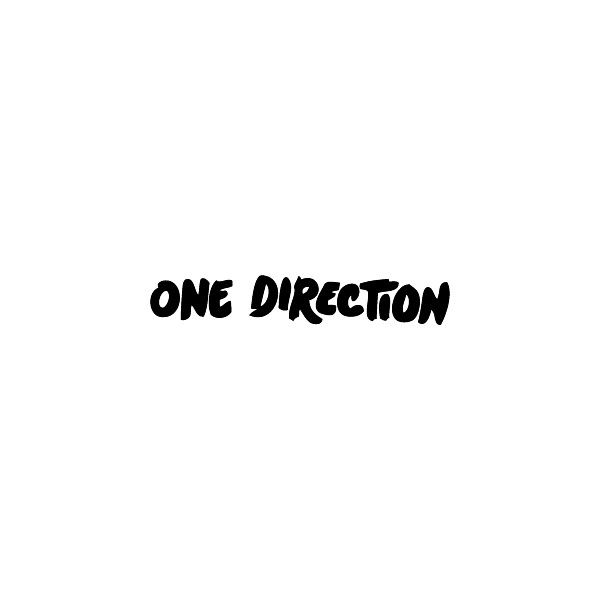 One Direction logo, Vector Logo of One Direction brand free download... ❤ liked on Polyvore