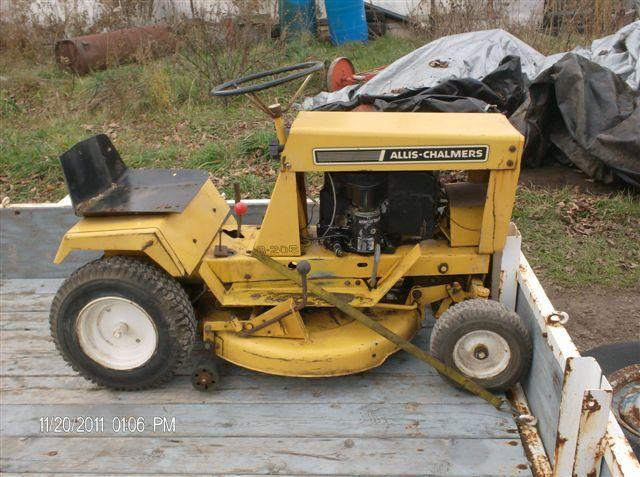 1000+ images about Garden Tractors, Allis Chalmers Garden ...