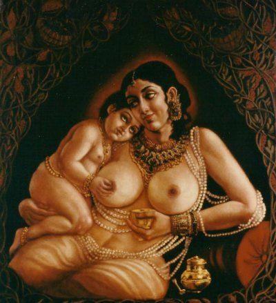 krishna and yashoda.