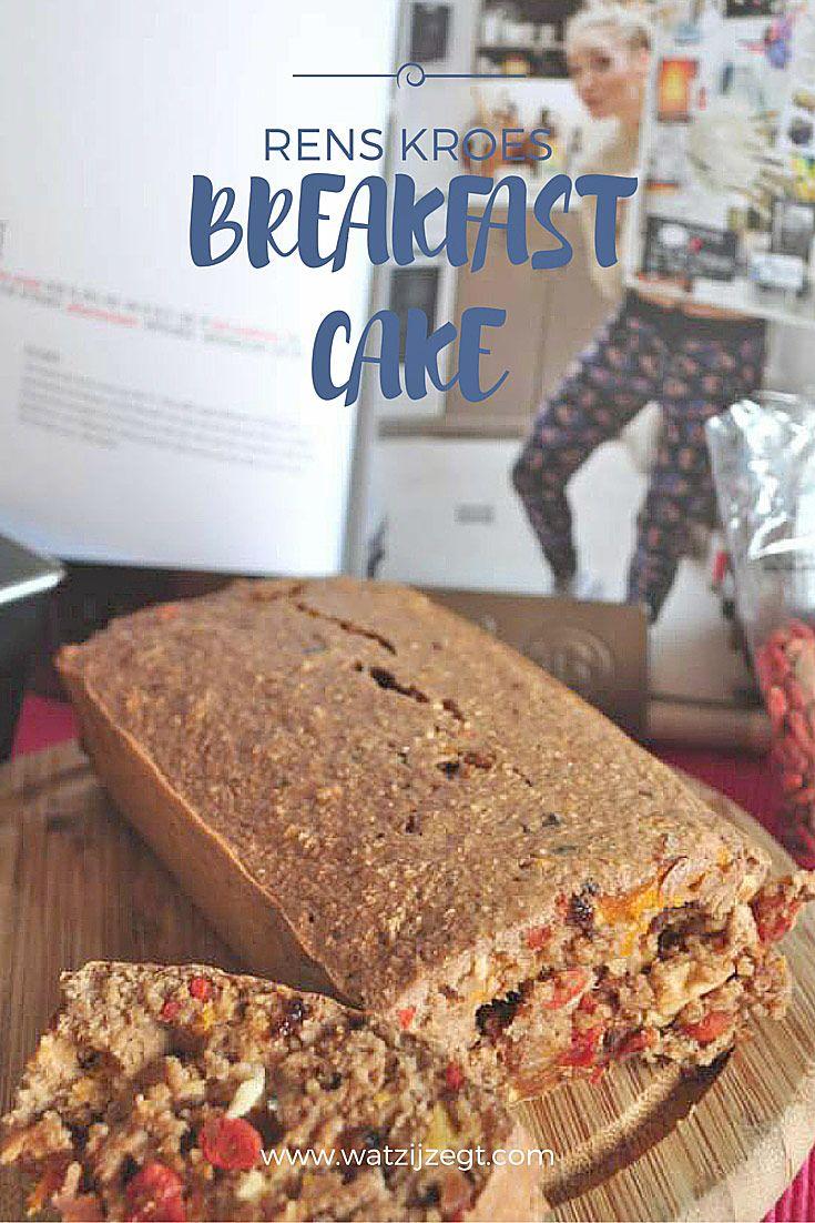 Rens Kroes Breakfast Cake