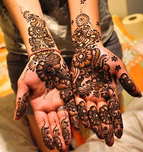Mehndi Designs Bridal 18