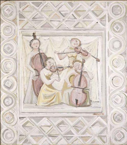 Massimo Campigli, Quattro musiciste