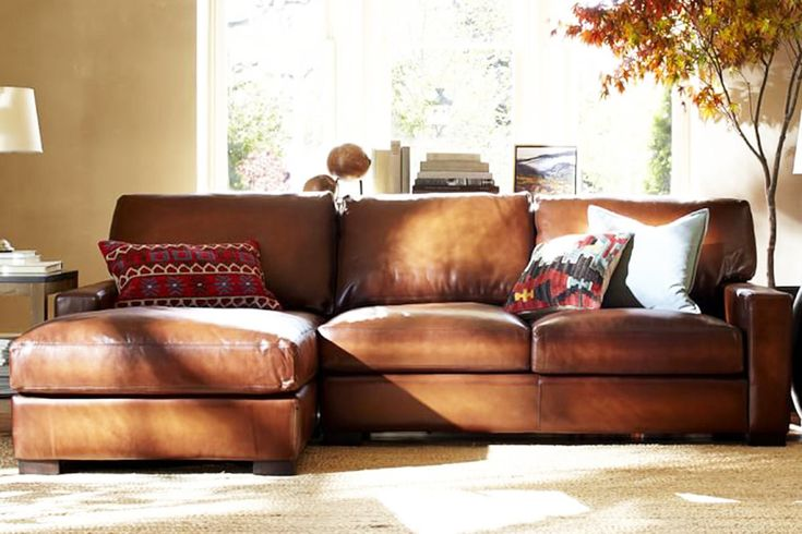 4 Modern Leather Sectional Sofas For A Better Living Room regarding measurements 1200 X 800 Pottery Barn Leather Sofa Bed - Sofa beds frequently get a bad rap for being ugly or uncomfortable or even a combo of both. With a leather couch bed, this isn't too much of a difficulty because leather immediately gives