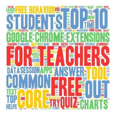 FREE Google Chrome Extensions: Top 10 FREE Google Chrome Extensions for Teachers. Free Educational Technology