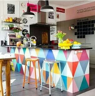 bright and cheerful