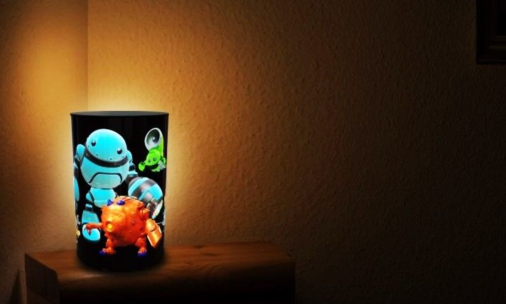 Night Lamps for kids. Soft light. Diffused indoor lightening. Led lightening. Product dimensions: 20 x 20 x 33 cm