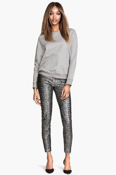 Pantalon à paillettes | H&M