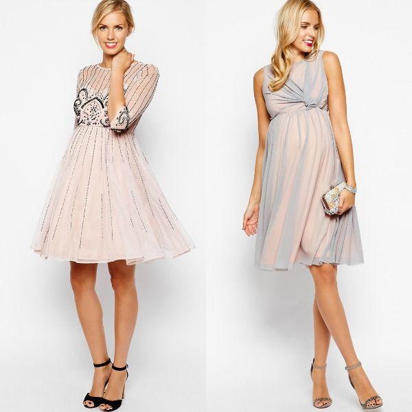Diferentes vestidos para lucir en tu boda durante el embarazo - http://vestidosglam.com/diferentes-vestidos-para-lucir-en-tu-boda-durante-el-embarazo/