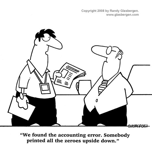Accounting Cartoons: cartoons about billing, cartoons
