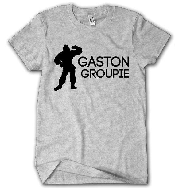Beauty and the Beast Shirt Gaston Groupie by CarolinaMagnoliaDes