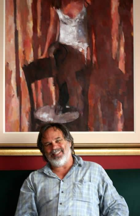 """RYNO SWART, pintor sul-africano- """"Ryno Swart is an artist, living and working in Simon's Town, South Africa. His subject matter is mostly figurative, with a love for atmosphere and chiaroscuro. Much of his work has and erotic, mysterious quality, exploring a personal mythology which is still revealing itself. Ryno's website is at http://artistvision.org Saiba mais em: http://www.chongyeeching.com/"""