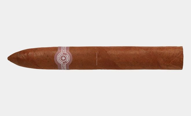 Montecristo #2 Cohiba may be the brand we most associate with Cuban cigars, but the Montecristo #2 is an iconic cigar in its own right. Do not confuse this with the Dominican made Montecristo. While that's still a decent cigar, the original Cuban blend surpasses it in every way. This is the Cuban cigar to reach for when you are on vacation but you don't want to look like a tourist.