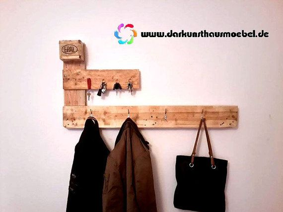 Furniture from pallets wardrobe. by Daskunsthaus on Etsy
