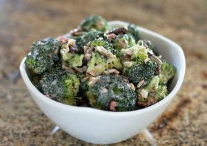 Best Ever Broccoli Salad with Bacon and Raisins: Family Favorite Broccoli Salad