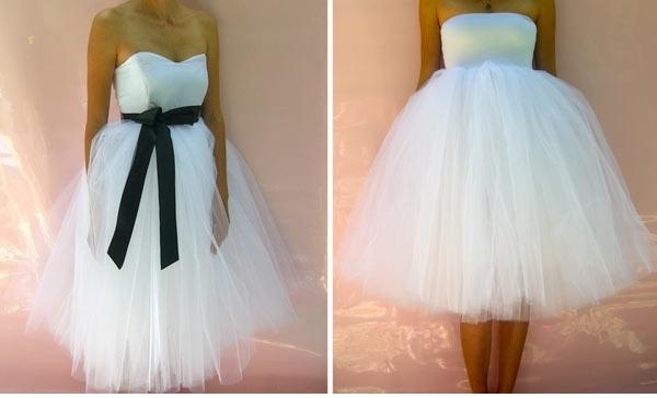 #Vestiti da #sposa corti