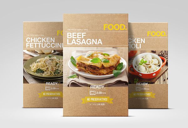 FOOD branding and packaging project