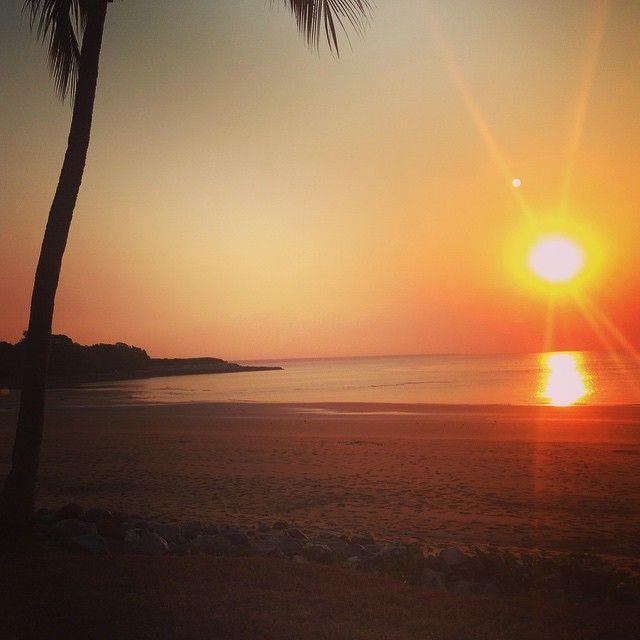 Mindil Beach in Darwin, Australia.