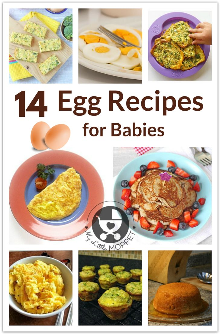 Moms are always in a hurry to introduce eggs to their babies! Here are 14 egg recipes for babies, including egg yolks as well as whole eggs.