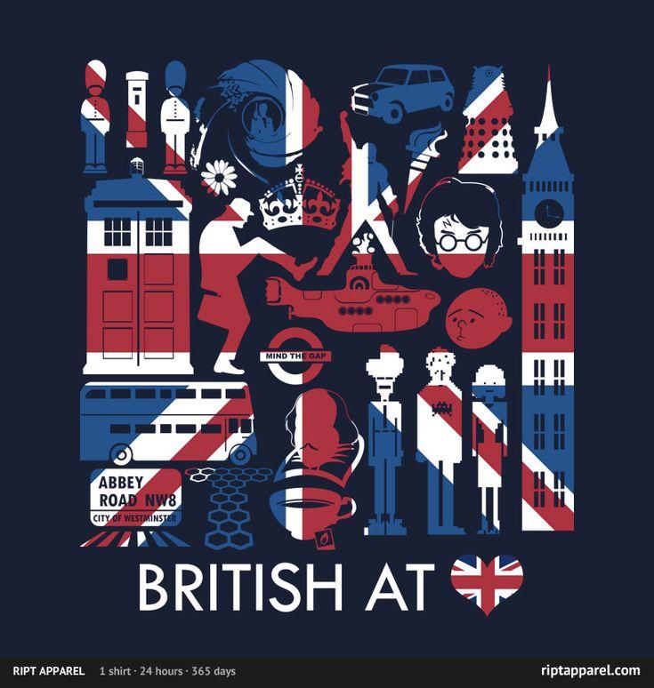 BritishGeek, England, Heart, London, Things British, British Stuff, Doctors, United Kingdom, Union Jack