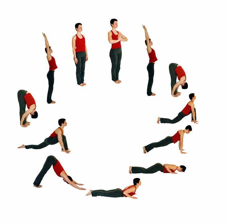How to do Surya Namaskar – Sun Salutation Steps & Postures