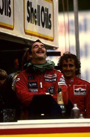 Winner Nigel Mansell (GBR) Williams FW10 European Grand Prix, Brands Hatch, 6 October 1985