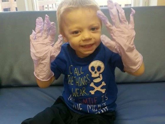 Kane fighting rare blood disease | Medical Expenses - YouCaring.com  LET'S GET LOTS OF LIKES FOR THIS LITTLE DUDE!!