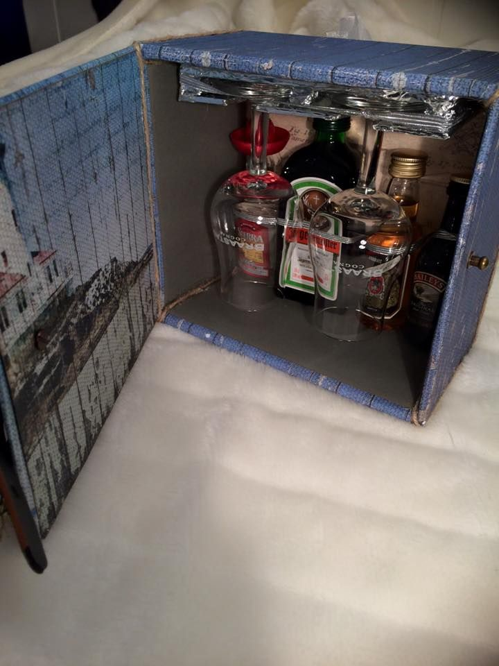 Mini bar skap