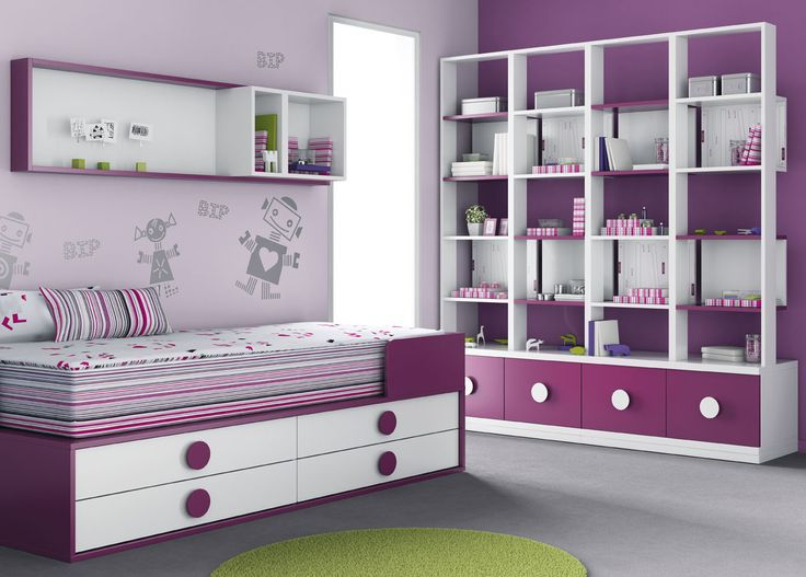 "Habitación infantil del catálogo de mueble juvenil ""Kids Up 2"" de Muebles Ros"