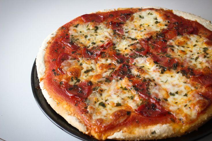 les 25 meilleures id es de la cat gorie pizza sans fromage sur pinterest pizza sans cro te et. Black Bedroom Furniture Sets. Home Design Ideas