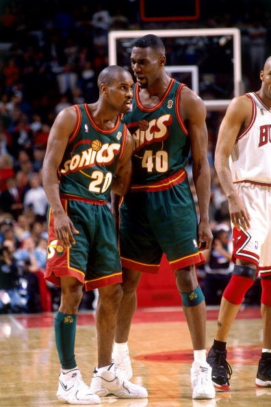 Shawn Kemp. See more. 1996 NBA Finals. Bulls 4 - 2 Sonics.