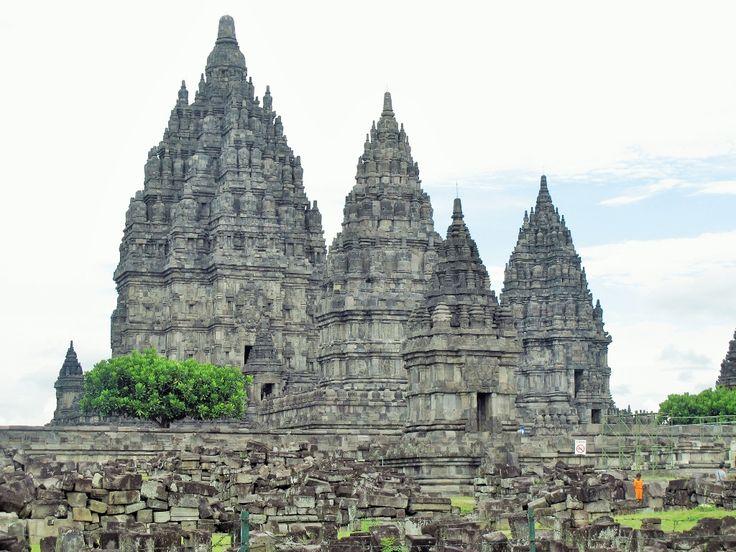 Templo de Prambanan. Java. Indonesia