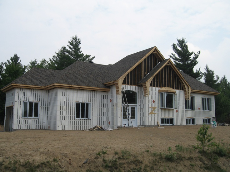 Icf home icf homes pinterest insulated concrete for Insulated concrete homes