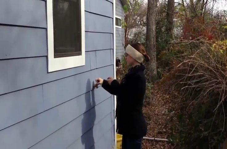Secret hidden exterior entrance door. | Secret Hiding ...