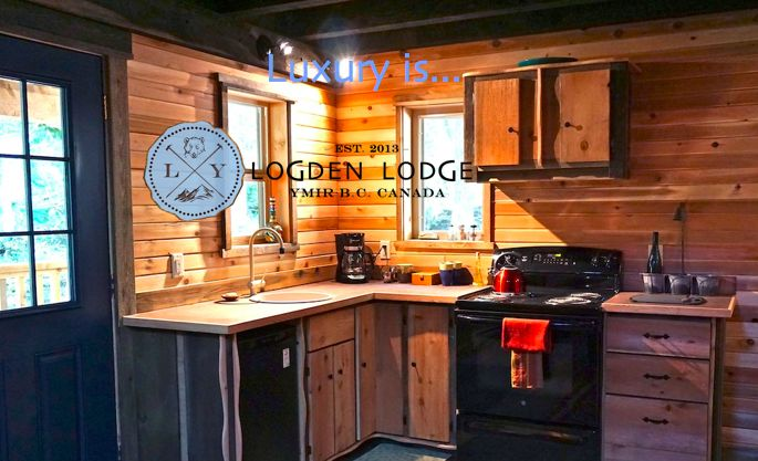 Freedom. Dine whatever & whenever you like, at your own pace. http://www.logdenlodge.com/cabins.htm   Logden Lodge