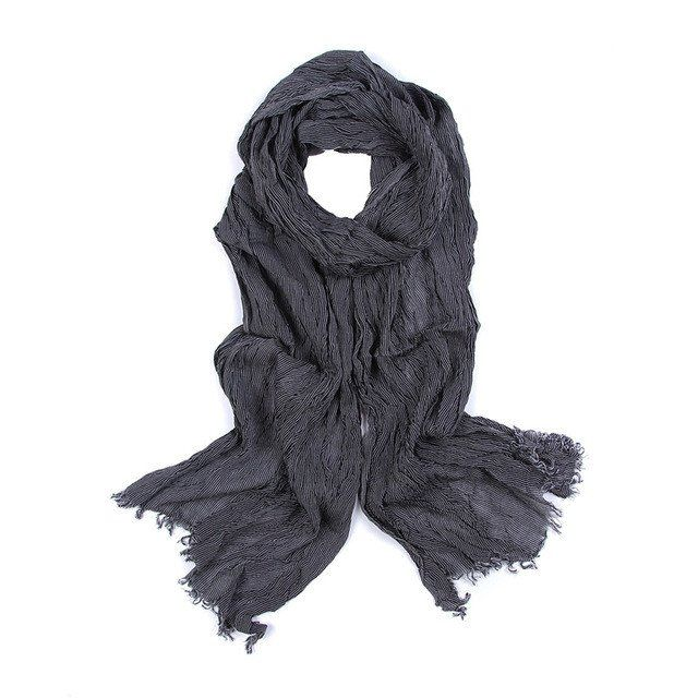 Item Type: ScarvesDepartment Name: AdultStyle: FashionScarves Type: ScarfPattern Type: StripedGender: MenMaterial: Viscose,CottonScarves Length: >175cmSize: