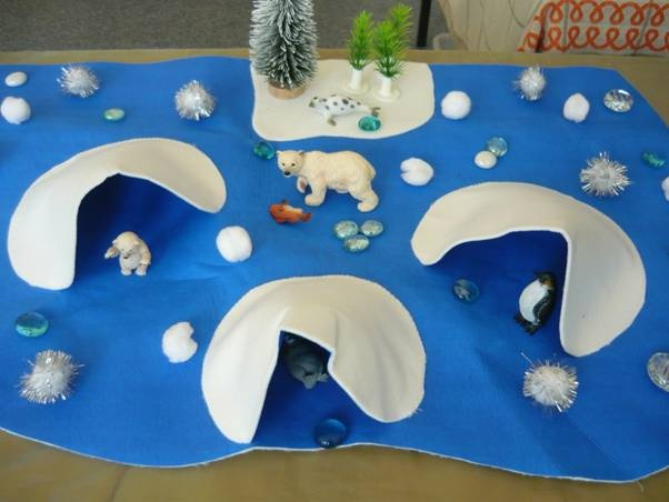 "Arctic small world ("",)"