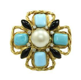 Chanel Pendant/Brooch