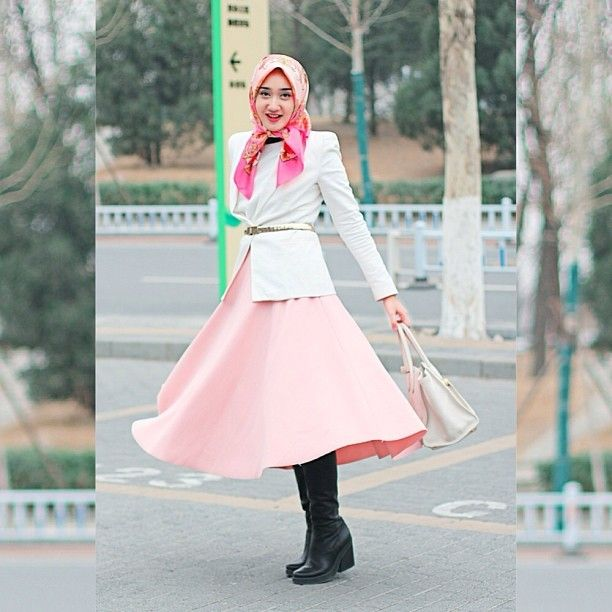 Hijab Street Style 2014