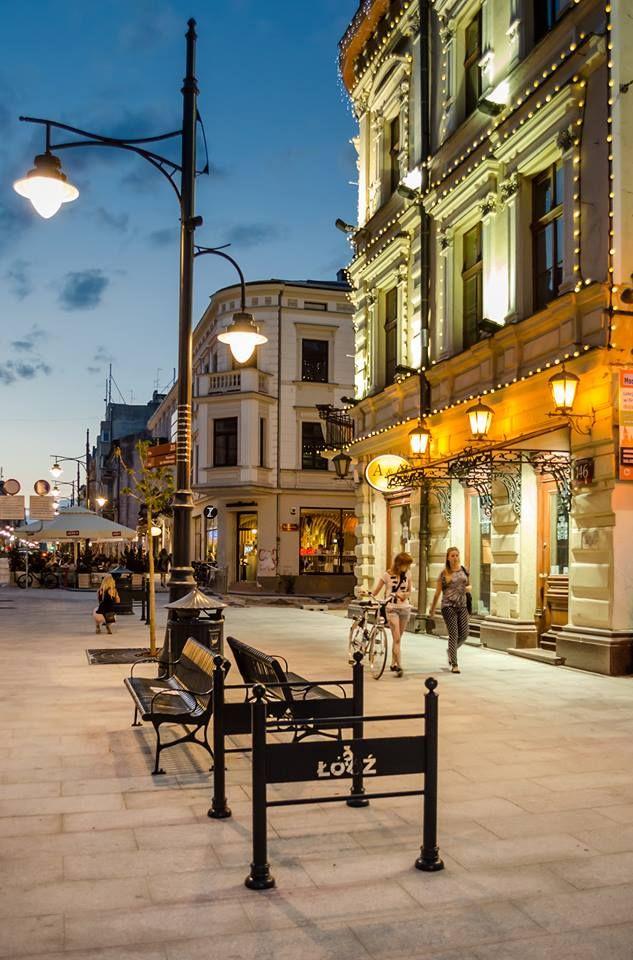 Łódź, Piotrkowska Street