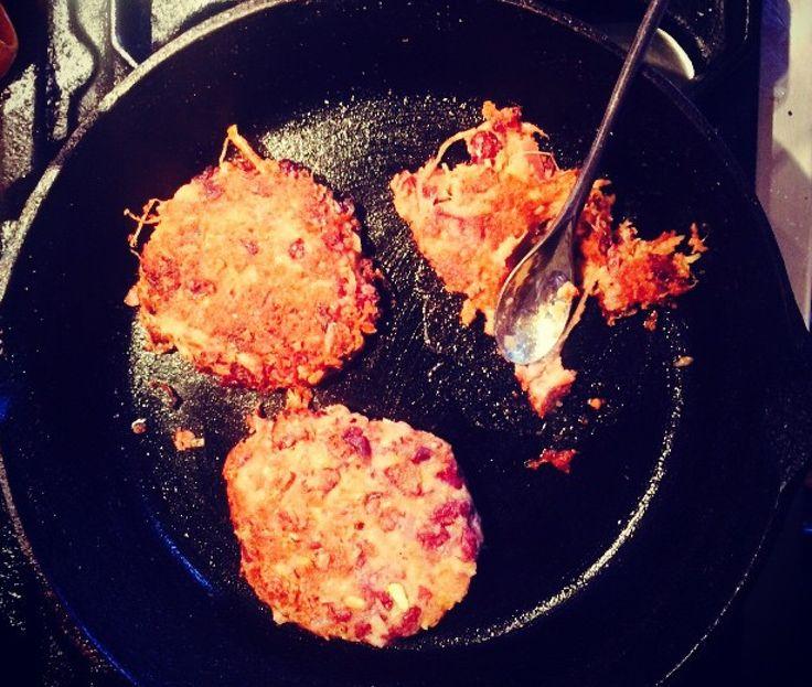 Kidney bean and peanut butter burger, 22p | JACK MONROE: COOK, CAMPAIGNER, GUARDIAN COLUMNIST, MOTHER, AUTHOR, ETC.